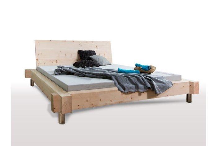 Massief houten bed Appenzell II (hout: zirben / alpenden / zirbe)