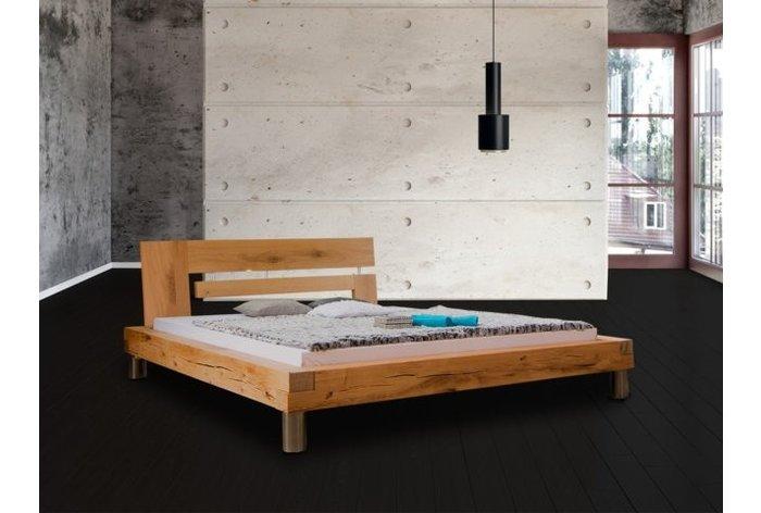 Houten bed Marbach - hoofdbord type 1