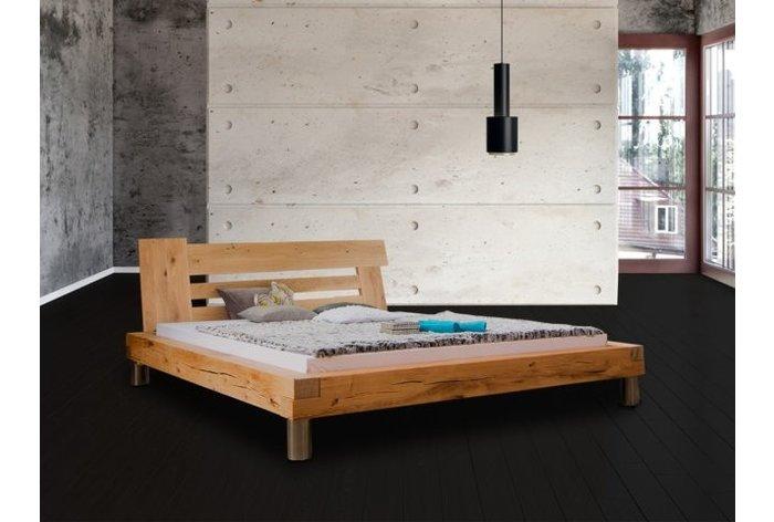 Houten bed Marbach - hoofdbord type 2