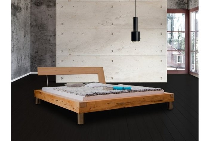 Houten bed Marbach - hoofdbord type 3