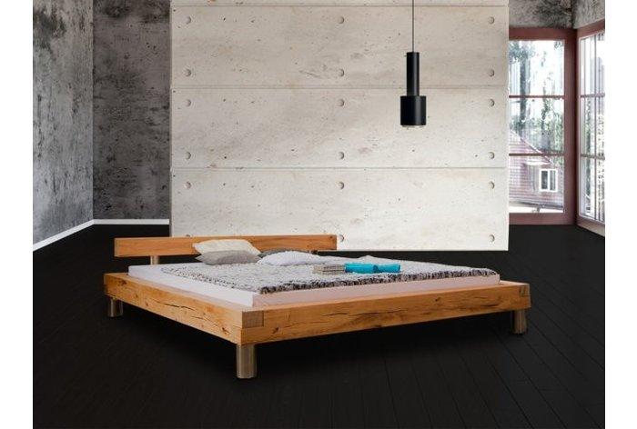 Houten bed Marbach - hoofdbord type 4