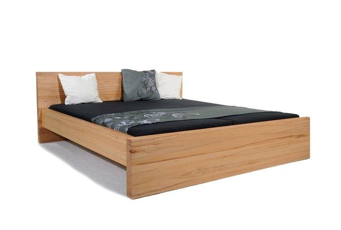 Massief houten bed Gossau (hout: kernbeuken)