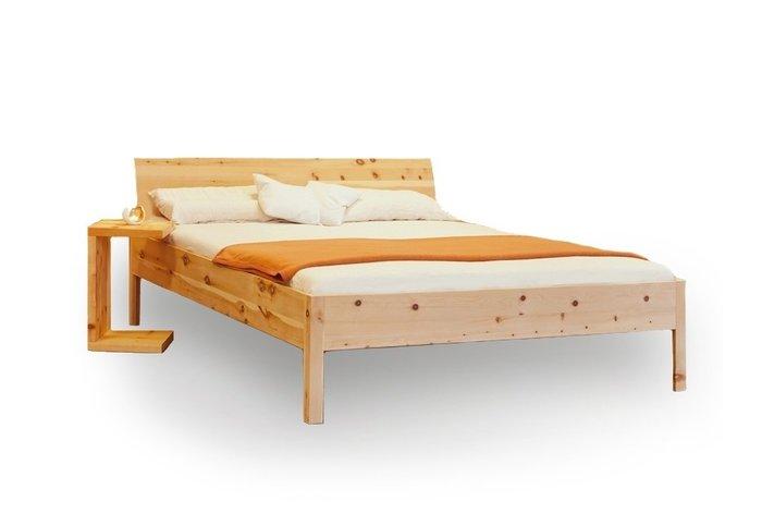 Massief houten bed Sonne (hout: zirben / alpenden / zirbe)