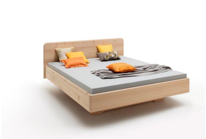 Massief houten bed Lucia (hout: zirben / alpenden / zirbe)