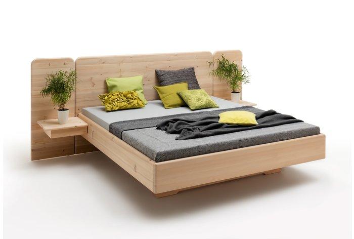 Massief houten bed Sotto (hout: zirben / alpenden / zirbe)