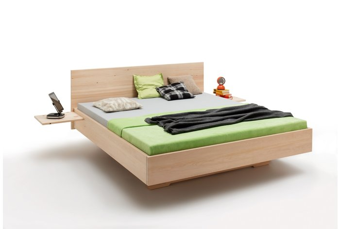 Massief houten bed Fodara (hout: zirben / alpenden / zirbe)