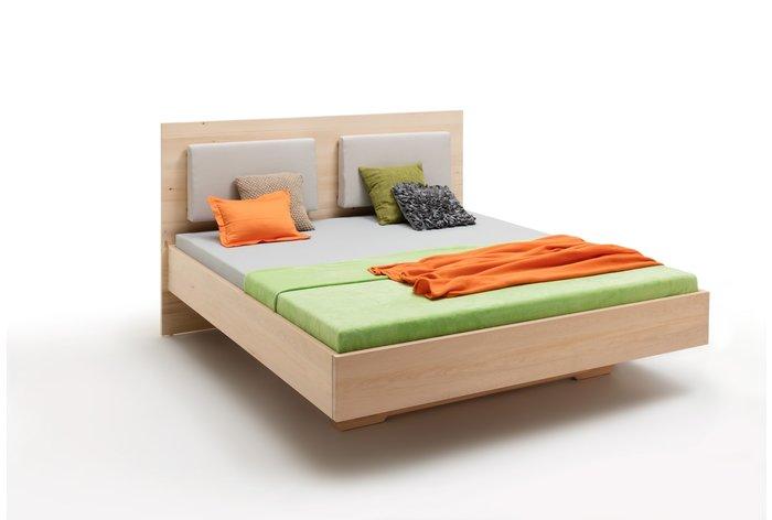 Massief houten bed Toblach (hout: zirben / alpenden / zirbe)