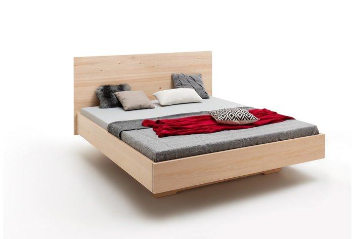 Massief houten bed Vedrette (hout: zirben / alpenden / zirbe)