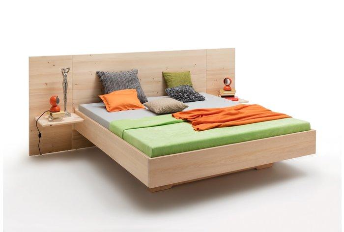 Massief houten bed Sciliar (hout: zirben / alpenden / zirbe)