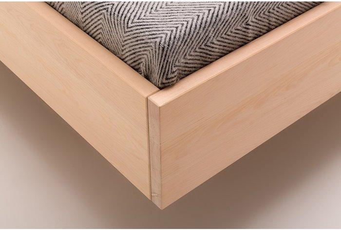 Rechte lijnen geven bed Sciliar een prachtig design in de slaapkamer