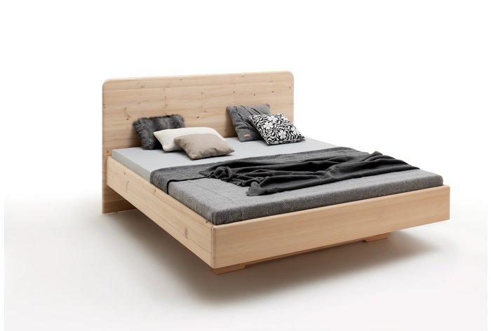 Massief houten bed Pietra (hout: zirben / alpenden / zirbe)