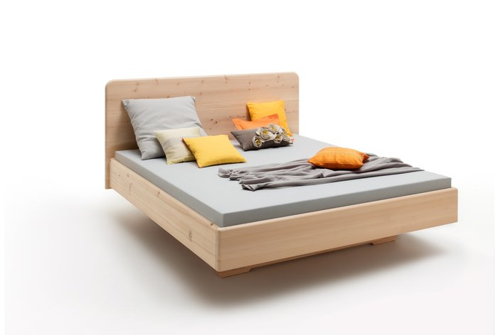 Massief houten bed Carezza (hout: zirben / alpenden / zirbe)