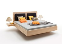 Zirben bed Carezza