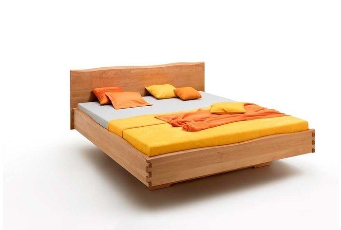 Massief houten bed Gouda (hout: beukenhout)