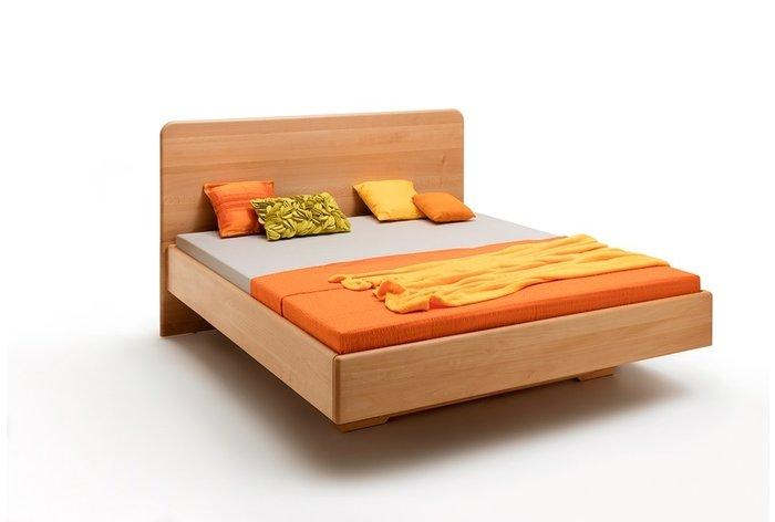 Massief houten bed Utrecht (hout: beukenhout)