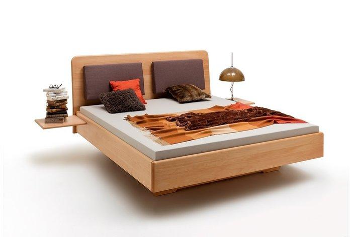 Massief houten bed Groningen (hout: beukenhout)