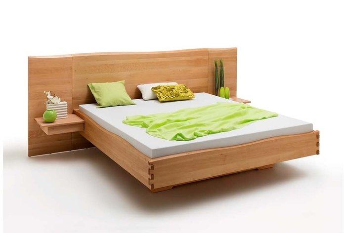 Massief houten bed Zoetermeer (hout: beukenhout)