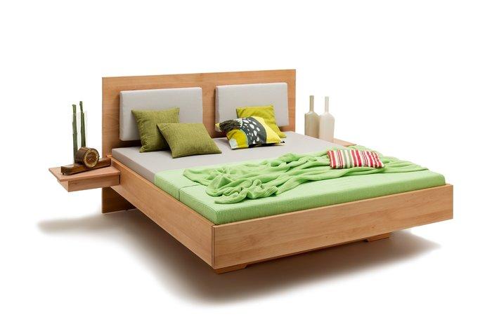 Massief houten bed Heerenveen (hout: beukenhout)