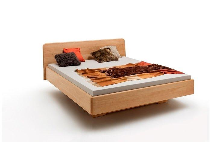 Massief houten bed Zwolle (hout: beukenhout)