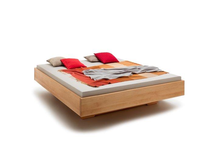 Massief houten bed Den Haag (hout: beukenhout)