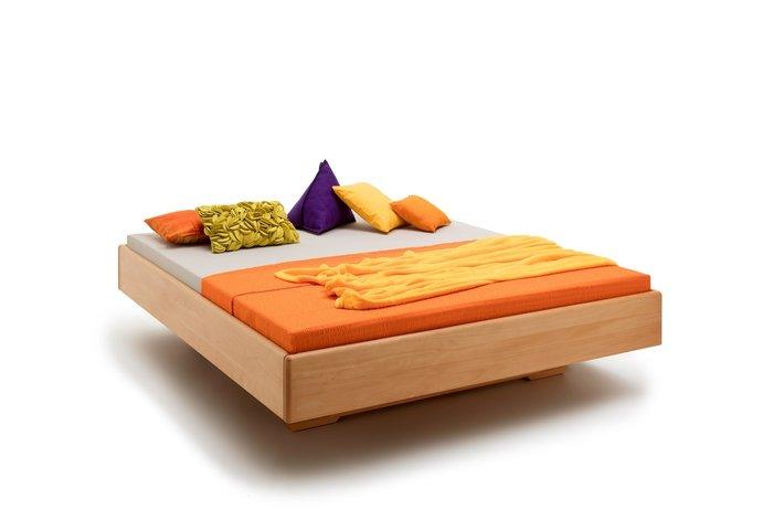 Massief houten bed Rotterdam (hout: beukenhout)