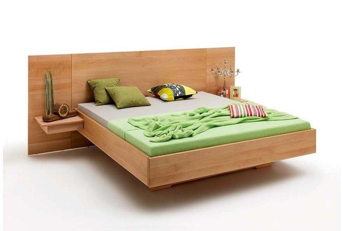 Massief houten bed Maastricht (hout: beukenhout)