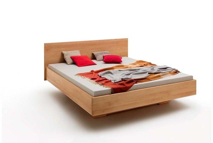Massief houten bed Hilversum (hout: beukenhout)