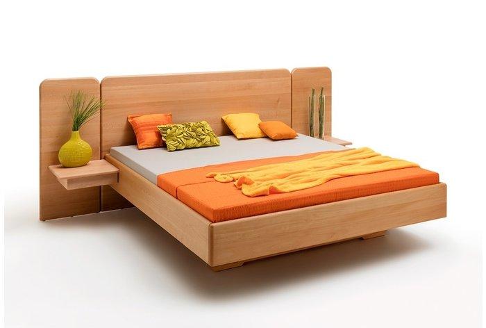 Massief houten bed Delft (hout: beukenhout)