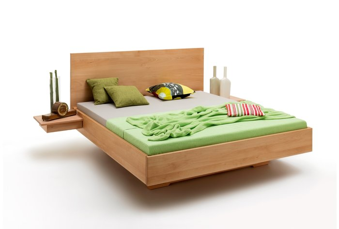 Massief houten bed Breda (hout: beukenhout)