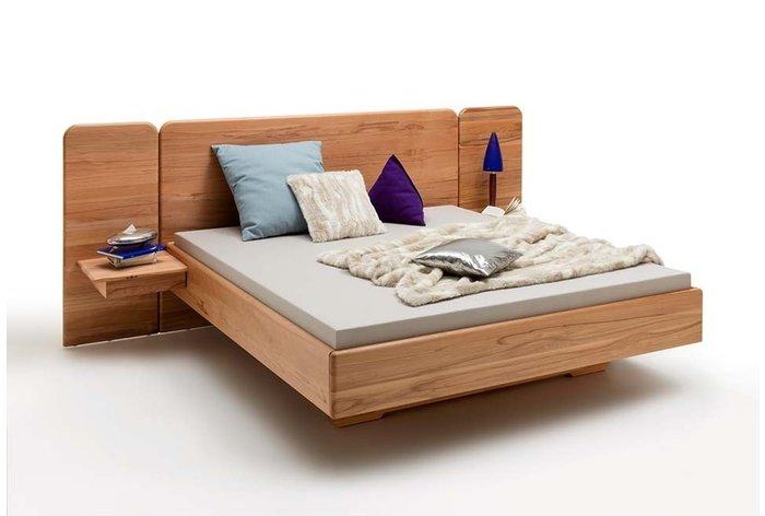 Massief houten bed Den Bosch (hout: kernbeuken)