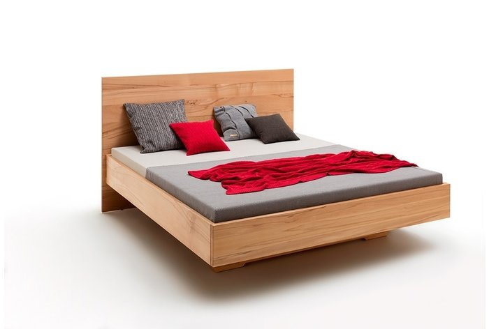 Massief houten bed Doetinchem (hout: kernbeuken)