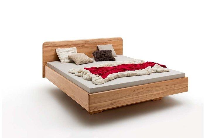 Massief houten bed Nijmegen (hout: kernbeuken)