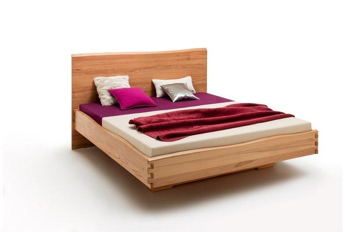 Massief houten bed Eindhoven (hout: kernbeuken)
