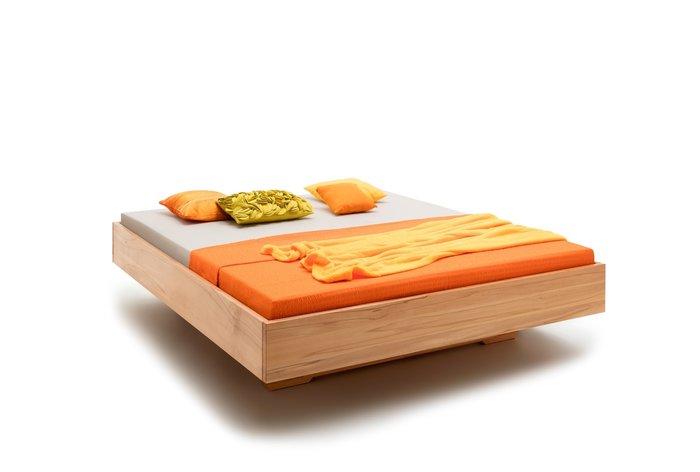 Massief houten bed Helmond (hout: kernbeuken)