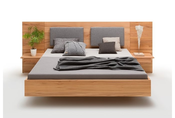 Aanhang nachtkastjes en rug steunkussens (6 kleuren verkrijgbaar) tegen meerprijs verkrijgbaar