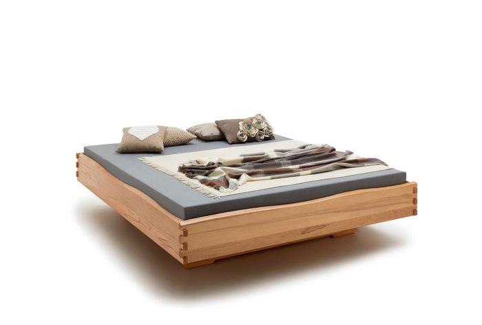 Massief houten bed Heerlen (hout: kernbeuken)
