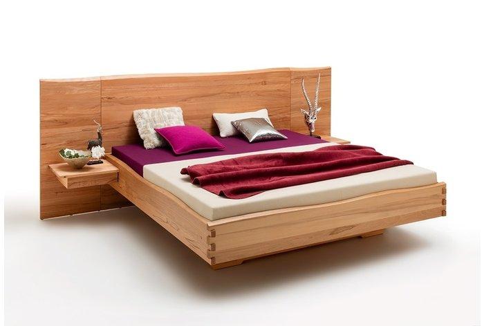 Massief houten bed Sittard (hout: kernbeuken)