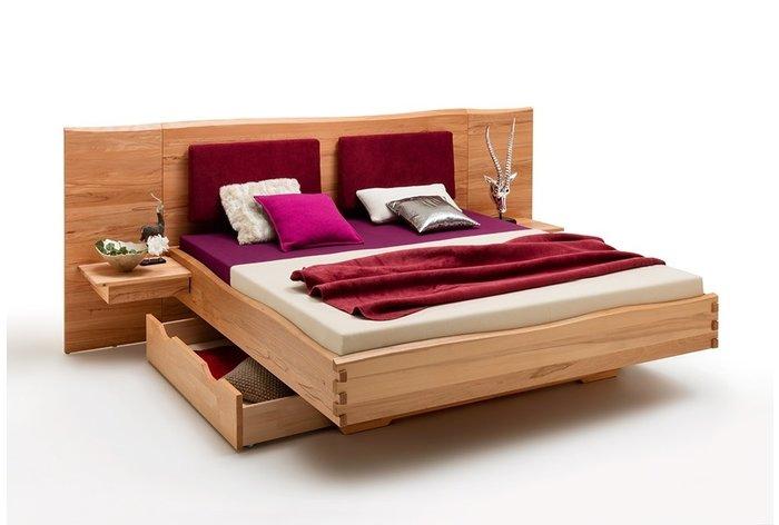 Ook verkrijgbaar met lade (opbergruimte), aanhang nachtkastjes en rug steunkussens (6 kleuren)
