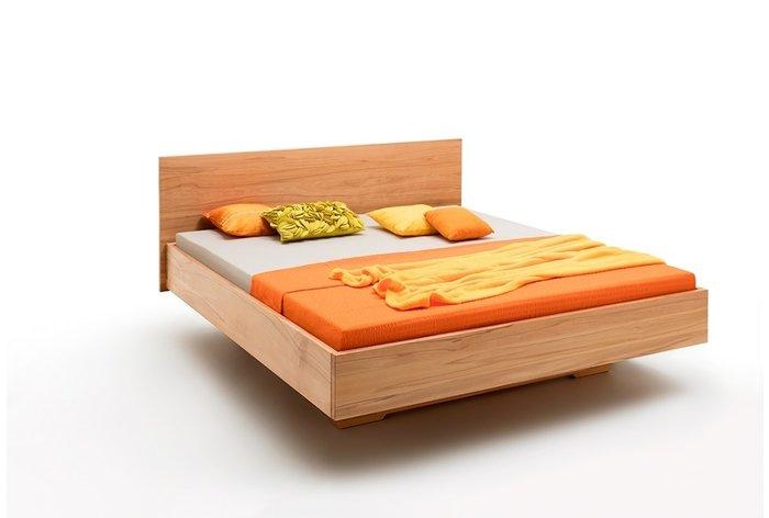 Massief houten bed Arnhem (hout: kernbeuken)