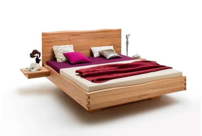Massief houten bed Veenendaal (hout: kernbeuken)
