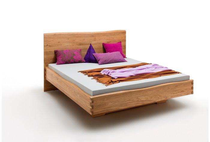 Massief houten bed Lelystad (hout: wildeiken)