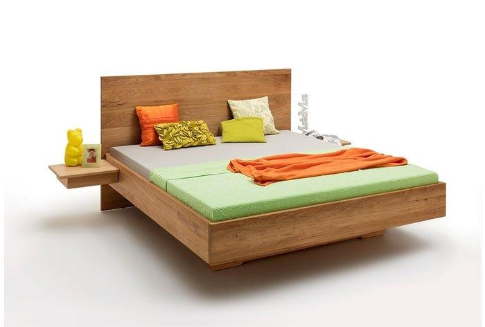 Massief houten bed Apeldoorn (hout: wildeiken)