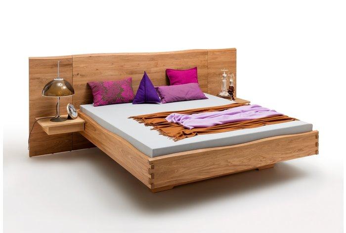 Massief houten bed Enschede (hout: wildeiken)