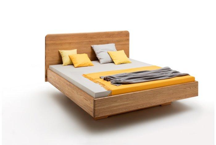 Massief houten bed Almelo (hout: wildeiken)