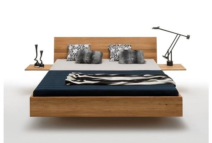 Vooraanzicht bed Drachten met aanhang nachtkastjes (tegen meerprijs verkrijgbaar)