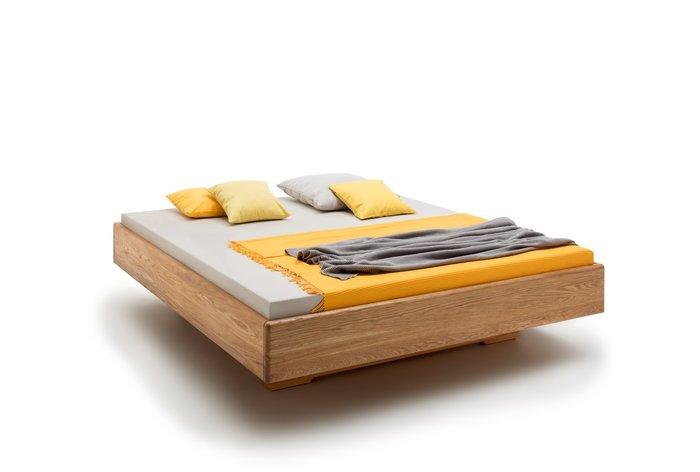 Massief houten bed Antwerpen (hout: wildeiken)