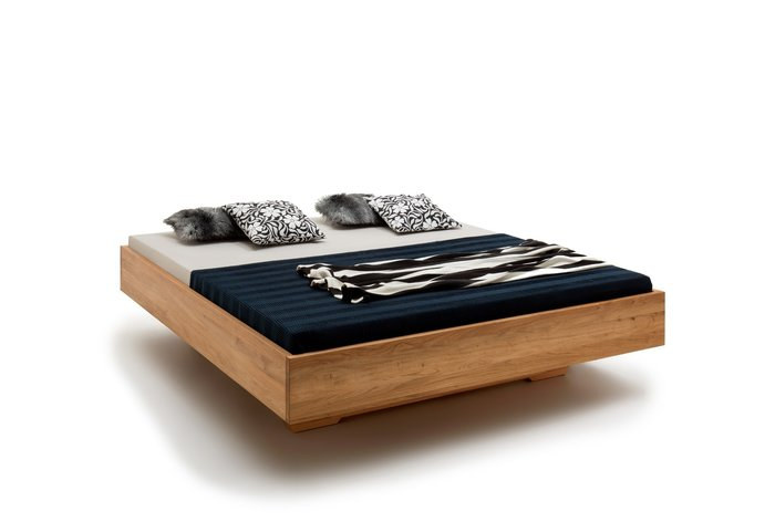 Massief houten bed Gent (hout: wildeiken)