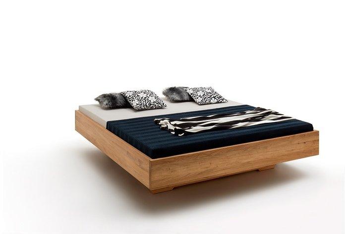 Houten bed Gent in 180 x 200 centimeter in wild eiken