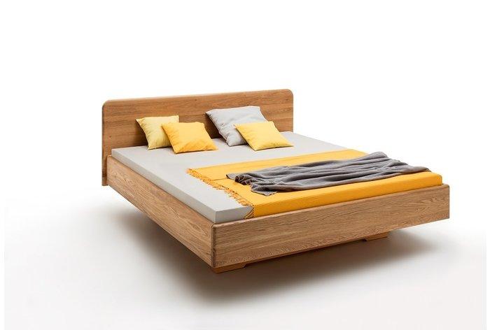 Massief houten bed Brugge (hout: wildeiken)