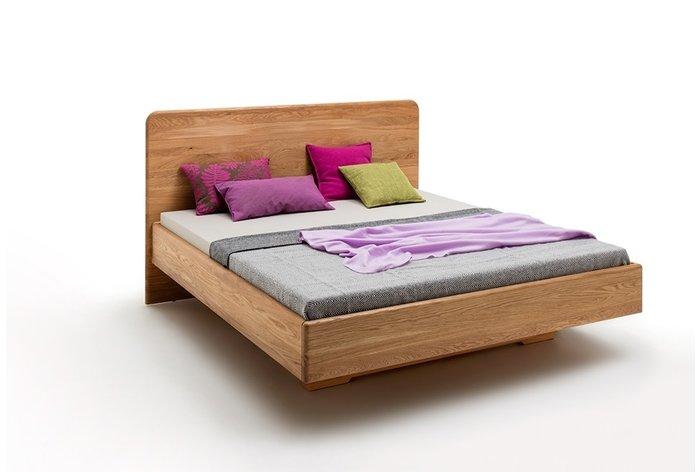 Massief houten bed Brussel (hout: wildeiken)